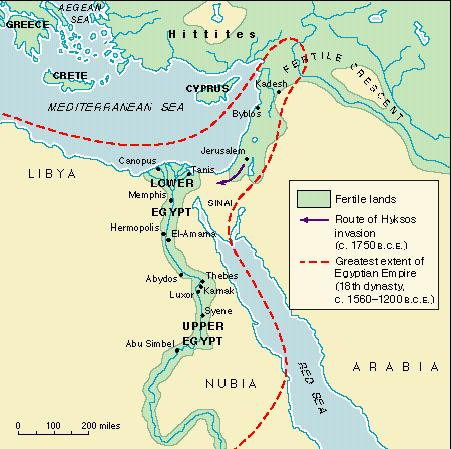 Assignments - Map of egypt history